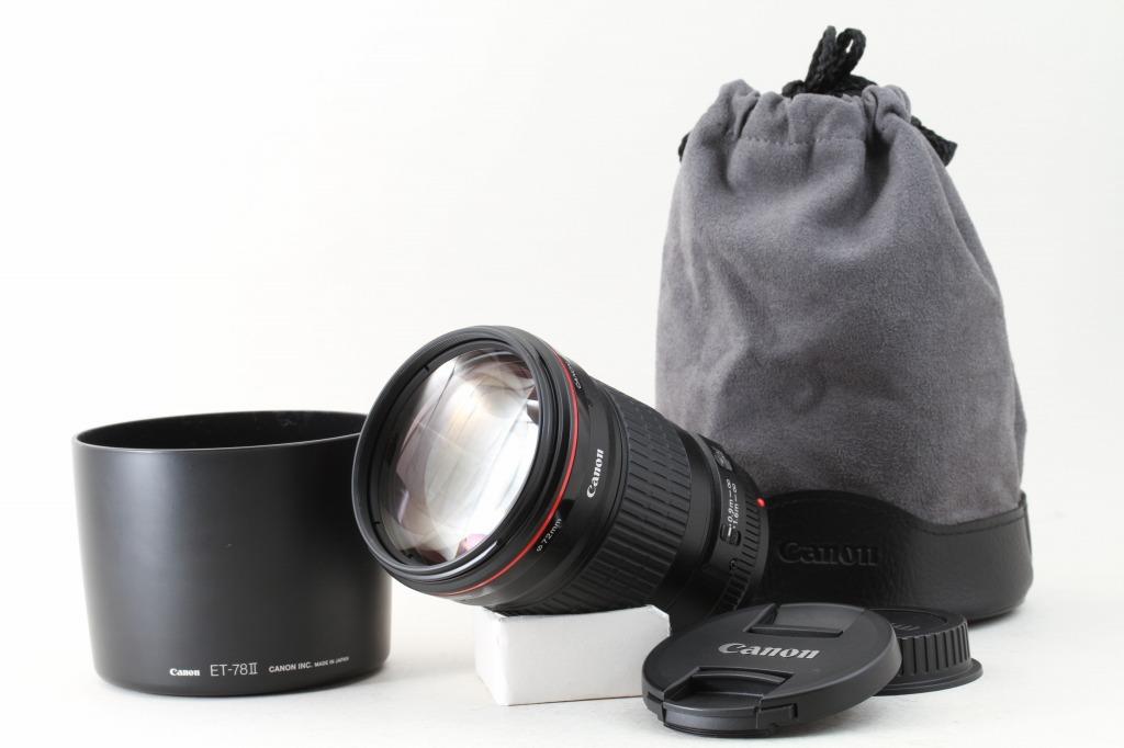 Canon EF 135mm F2 L USM Full-Frame Telephoto Prime Lens Mint #EL0020 ...